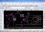 Rysunek skonwertowany za pomocą pdf2cad na format DXF i otworzony w ZWCAD.